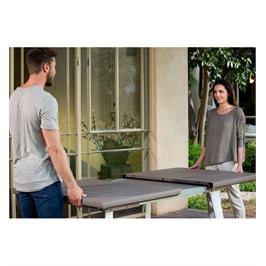 """סט שולחן הרמוני מתארך ו-8 כיסאות מבית כתר פלסטיק בע""""מ"""
