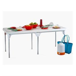 שולחן שיר מתקפל עם 6 רגלי אלומניום ליציבות מקסמלית מבית כתר פלסטיק דגם Folding table