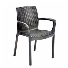 """שישיית כסאות באלי אווירת חופשה אקזוטית אצלכם במרפסת מבית כתר פלסטיק בע""""מ"""