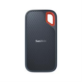 כונן חיצוני בנפח Extreme Portable 2T SSD ואחריות ל- 3 שנים מבית SanDisk דגםSDSSDE60-2T00-G25