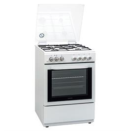 תנור אפיה משולב גז 6 תוכניות תוצרת LENCO דגם LFS-6077WS