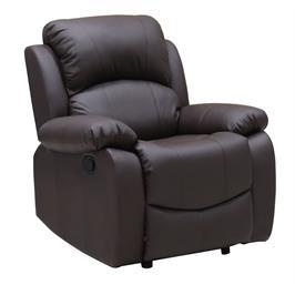 כורסת טלוויזיה אורתופדית בעלת עומק מושב רחב במיוחד והדום נשלף מבית GAROX דגם ויקונט