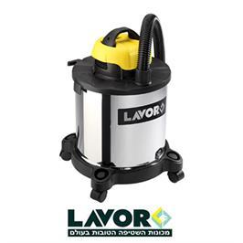 שואב אבק יבש / רטוב  180 בר קומפקטי מעולה לניקוי בתים מכוניות ועוד מבית LAVOR דגם DVC 20XT