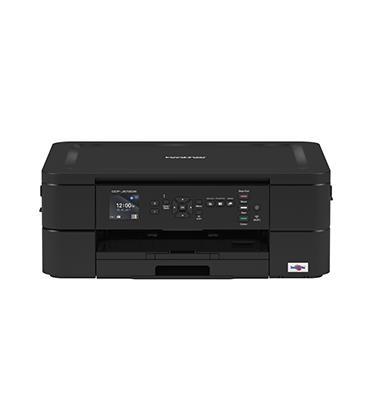 מדפסת משולבת הדפסה / סריקה צבעונית מנייד תוצרת BROTHER דגם DCPJ572DW