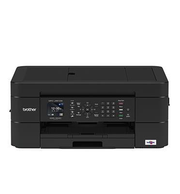 מדפסת משולבת הדפסה /סריקה מנייד תוצרת BROTHER דגם MFCJ491DW לבן/שחור