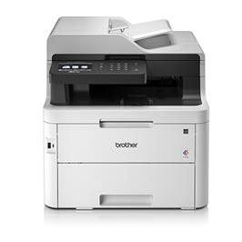 מדפסת לייזר אלחוטית  צבעונית משולבת / סורק / מכונת צילום / פקס תוצרת Brother דגם MFCL3750CDW