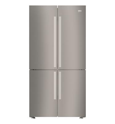 מקרר 4 דלתות 580 ליטר No Frost נירוסטה מוברשת תוצרת BEKO דגם GN1406221X