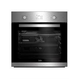 תנור אפיה בנוי 65 ליטר טורבו 8 תוכניות גימור נירוסטה תוצרת BEKO דגם BIM22100X