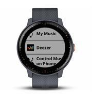 שעון יד חכם עד 500 שירים לשעון שלך והתחבר Bluetooth תוצרת GARMIN דגם vivoactive 3 Music