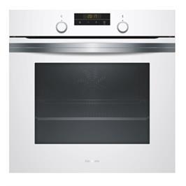 תנור אפיה בנוי 71 ליטר 7 תוכניות בישול ואפיה בגימור זכוכית לבנה תוצרת CONSTRUCRA דגם CF4M63020Y