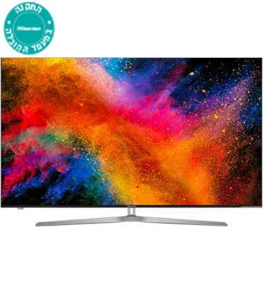 """טלוויזיה """"55 ULED 4K SMART TV תוצרת Hisense דגם H55U7AIL"""