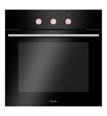 תנור בנוי הלכתי שחור בעיצוב חדשני ויוקרתי מבית SAUTER דגם CUISINE-3700B