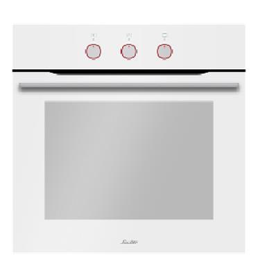 תנור בנוי הלכתי לבן בעיצוב חדשני ויוקרתי מבית SAUTER דגם CUISINE-3700W