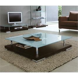 שולחן סלון גדול מזכוכית מעוצב העיצוב האחרון והעדכני ביותר מבית GAROX דגם CAMEO