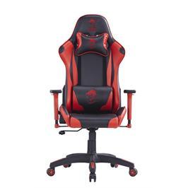 כסא גיימינג מגניב איכותי מספוג וציפוי דמוי עור כולל כריות גב וראש תוצרת DRAGON דגם CEASER