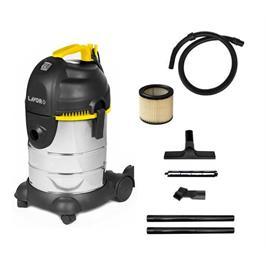 שואב אבק יבש / רטוב 180 בר בנפח של 30 ליטר להסרת לכלוך יבש ורטוב תוצרת LAVOR דגם LVC 30XC