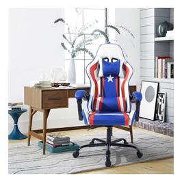 כסא גיימר פרו עיצוב מרשים וארגונומי נח לישיבה ממושכת מבית Homax דגם אמריקה