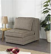 כורסא נפתחת למיטה יחיד עם ארגז מצעים מבית BRADEX דגם BARRISTA