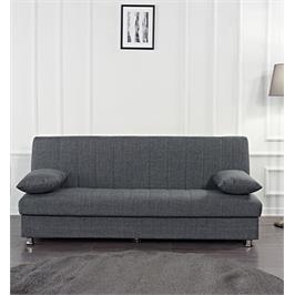 ספה אירוח נפתחת למיטה בעיצוב קלאסי בריפוד בד איכותי נעים למגע מבית BARADX דגם BONO