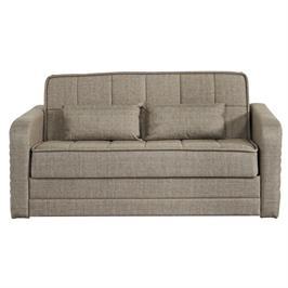 ספה דו מושבית נפתחת למיטה זוגית עם ארגז מצעים מבית BRADEX דגם DOMO