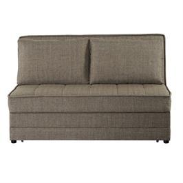 ספה דו מושבית נפתחת למיטה זוגית עם ארגז מצעים פתרון מושלם לאירוח מבית BRADEX דגם SATIS