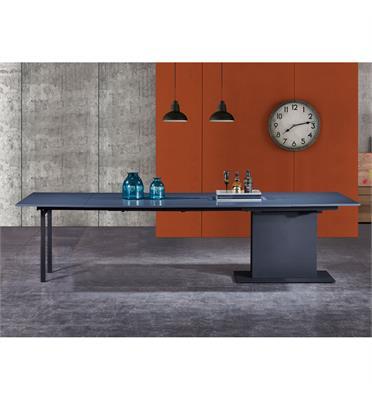 שולחן אוכל מודולרי נפתח עד 3 מטרים עשוי MDF גיימור שלייפלאק מבית BRADEX דגם MLADA