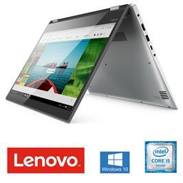 """מחשב נייד 14"""" 8GB מעבד Intel® Core™ i5-8250U עם מסך מגע מסתובב תוצרת Lenovo דגם 81EK0081IV"""