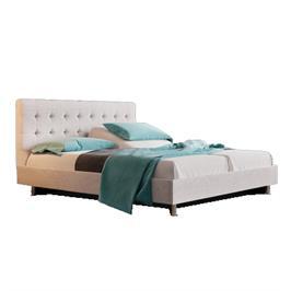 מיטה זוגית בעיצוב נקי עם מזרן הבריאות  Aeroflex Vitality תוצרת Aeroflex דגם LUCIA
