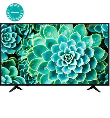 """טלוויזיה """"55 4K Ultra HD Smart TV תוצרת Hisense. דגם H55A6130IL מתצוגה"""