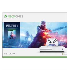 קונסולת XBOX ONE S 1TERA בקר אלחוטי, הורדה מלאה של המשחק Battlefield™ V Deluxe Edition