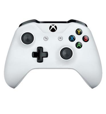 שלט אלחוטי למשחק XBOX ONE S צבע לבן CONTROLLER - WHITE
