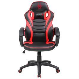 כיסא גיימרים לילדים ארגונומי ובטיחותי כולל כרית תמיכה לצוואר מבית SPIDER דגם SPIDER-V