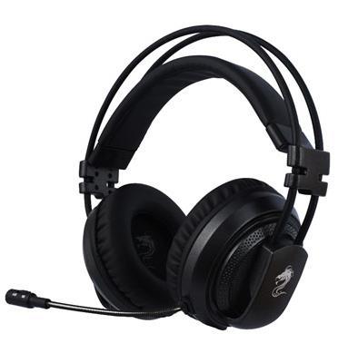 אוזניות גיימינג הכולל מיקרופון מובנה גלגל ווליום וכפתור השתקה מבית DRAGON דגם EDGE