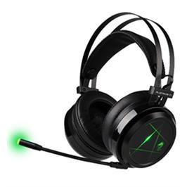 אוזניות גיימינג פרימיום איכותיות ומהודרות במיוחד בעלות נורת LED מבית DRAGON דגם PLATINUM