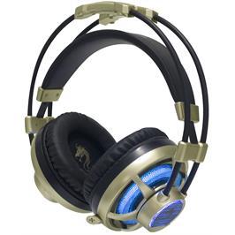 אוזניות גיימינג מעיצוב חדשני הכוללות נורת LED מופעלת USB מבית DRAGON דגם X-PRO
