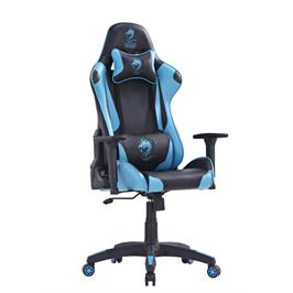 כסא גיימינג מגניב ציפוי דמוי עור כולל כריות גב וראש משענת יד 3D מבית DRAGON דגם CEASER