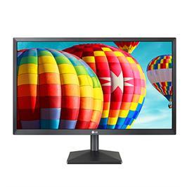 """מסך מחשב """"LED 22 ברזולוציית  Full HD כולל טכנולוגיית AMD וחיבור HDMI תוצרת LG דגם 22MK430H-B"""