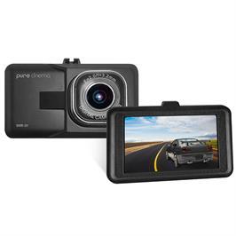 """מצלמת דרך לרכב עם מסך """"2.2 ביטחון לנהג הקלטה אוטומטית צילום רחב 90° מבית PURE CINEMA דגם DVR-31"""