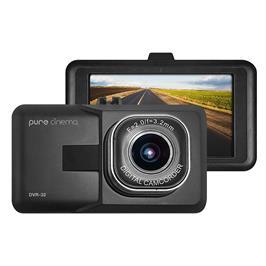 """מצלמת דרך לרכב עם מסך """"3 וחיישן G ביטחון לנהג הקלטה אוטומטית מבית PURE CINEMA דגם DVR-32"""