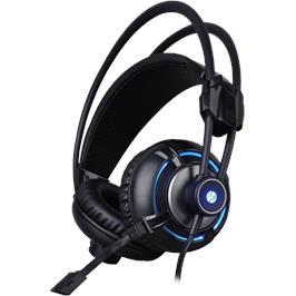 אוזניות גיימיג 4D מקצועיות עם רטט ותאורה מבית HP דגם HP-H300