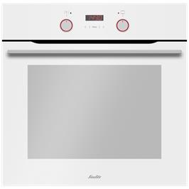 תנור בנוי הלכתי חדשני ויוקרתי תא אפייה אחד 65.5 ליטר גוון לבן תוצרת SAUTER דגם CUISINE-3800W