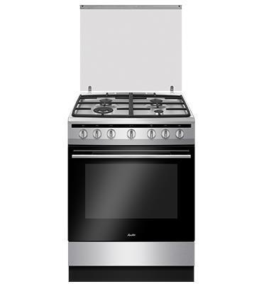 תנור משולב כיריים גז הלכתי תא אפיה 65.5 ליטר SAUTER דגם ELEGANT 4760IX