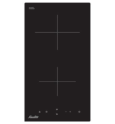 """כיריים זכוכית קרמיות """"דומינו"""" 2 מוקדי בישול 9 דרגות חום תוצרת SAUTER דגם SCH202"""