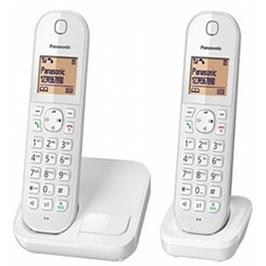 טלפון אלחוטי + שלוחה 1 צג 1.6 אינץ Eco Mode להפחתת עוצמת שידור תוצרת PANASONIC דגם KX-TGC412MBW