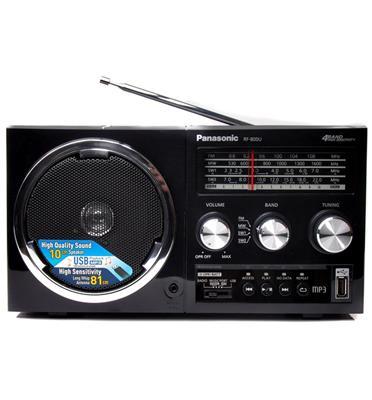 רדיו בסגנו רטרו + USB עוצמת שמע 2.5 ואט תוצרת PANASONIC דגם RF-800U