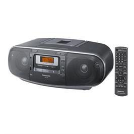 מערכת רדיו דיסק משולבת סטריאופונית שלט רחוק לשליטה מלאה מבית Panasonic דגם RX-D55
