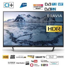 "טלוויזיה ""32 HDR Edge LED Frame Dimming SMART TV תוצרת Sony דגם KDL-32WE615BAEP מתצוגה"