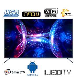 """טלוויזיה """"55 4K Android 6.0 Smart TV תוצרת HAIER דגם LE-55K6600UA"""
