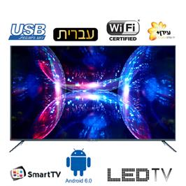 "טלוויזיה ""58 4K Android 6.0 Smart TV תוצרת HAIER דגם LE-58K6600UA"