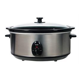 סיר בישול איטי 6.5 ליטר 2 דרגות חום נירוסטה מבית GRAETZ דגם TT-703